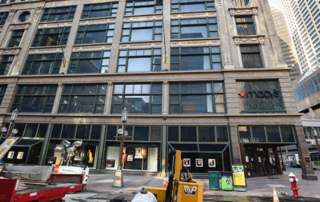 The 13-story Macy's store at 700 Nicollet Mall in downtown Minneapolis was the flagship for the original Dayton's department store. (File photo: Craig Lassig)