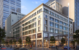 GENSLER – GENSLER Rendering for the makeover of the Macy's Dayton's building downtown Minneapolis.