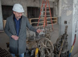 Brian Whiting, Telos Group president, is also working on the Old Post Office in Chicago.