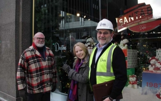 Dayton's Project Holiday Windows interview on KQRS